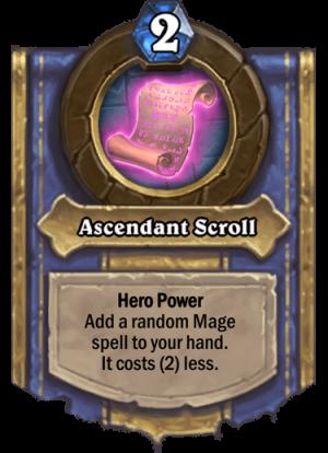 Ascendant Scroll Card