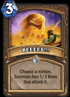 BEEEES!!! Card
