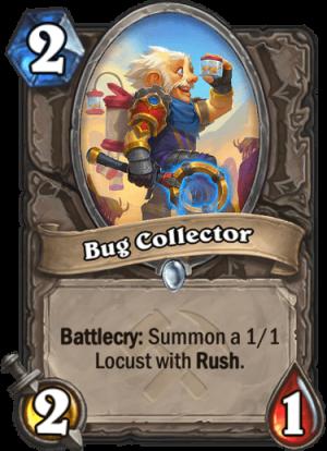 Bug Collector Card