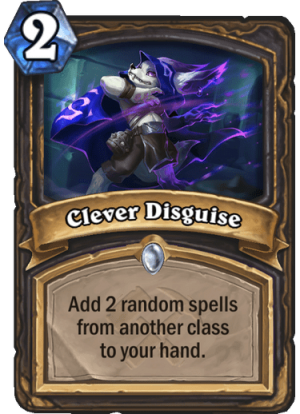 Clever Disguise Card