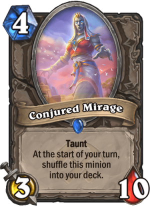 Conjured Mirage Card