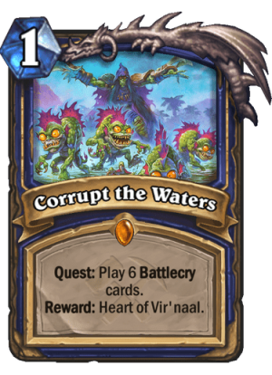 Corrupt the Waters Card