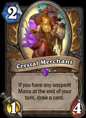 Crystal Merchant Card