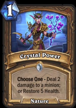 Crystal Power Card