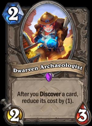 Dwarven Archaeologist Card