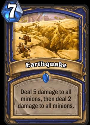 Earthquake Card
