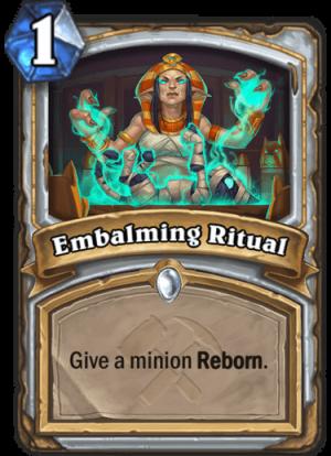 Embalming Ritual Card