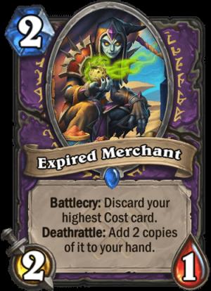 Expired Merchant Card