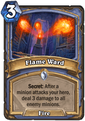Flame Ward Card