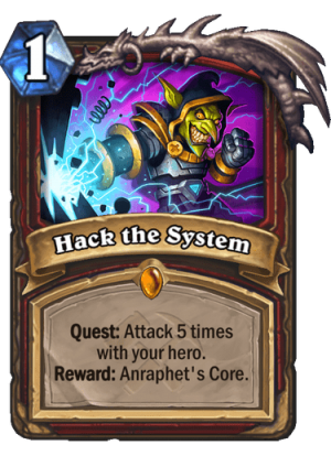 Hack the System Card