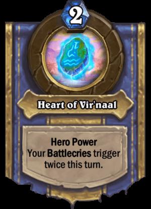 Heart of Vir'naal Card