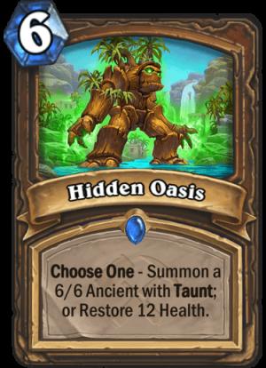 Hidden Oasis Card