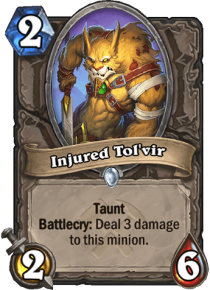 Injured Tol'vir Card