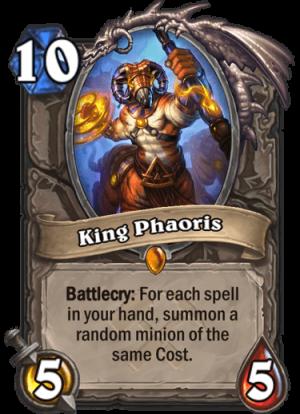 King Phaoris Card
