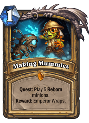 Making Mummies Card