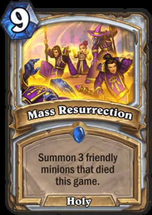 Mass Resurrection Card