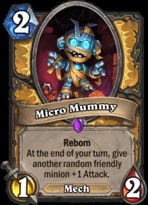 Micro Mummy Card