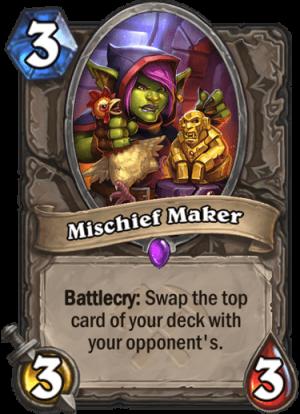 Mischief Maker Card