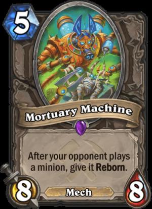 Mortuary Machine Card