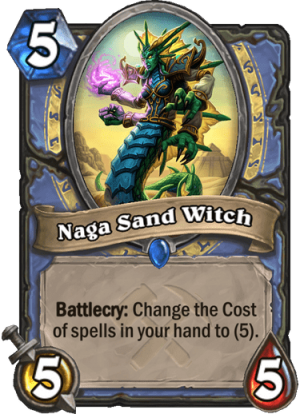 Naga Sand Witch Card