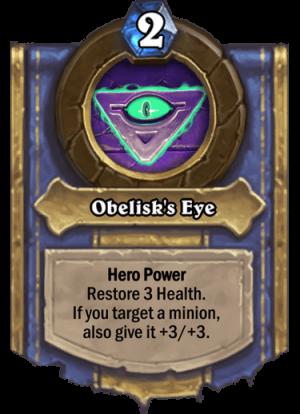 Obelisk's Eye Card