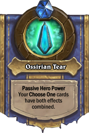 Ossirian Tear Card
