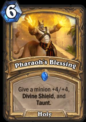 Pharaoh's Blessing Card