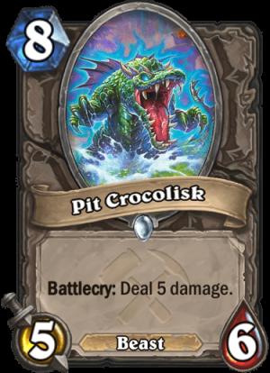 Pit Crocolisk Card