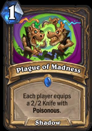 Plague of Madness Card