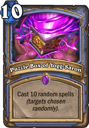 Puzzle Box of Yogg-Saron Card