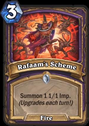 Rafaam's Scheme Card