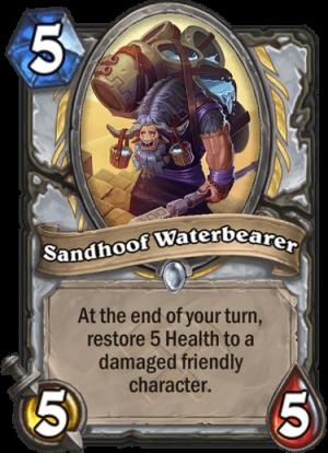 Sandhoof Waterbearer Card