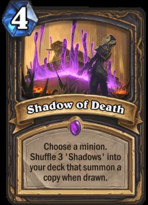 Shadow of Death Card