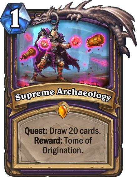 supreme archaeology hearthstone top decks supreme archaeology hearthstone top decks