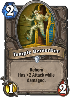 Temple Berserker Card