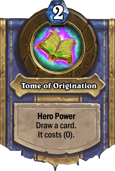 26+ Tome Of Origination Hearthstone