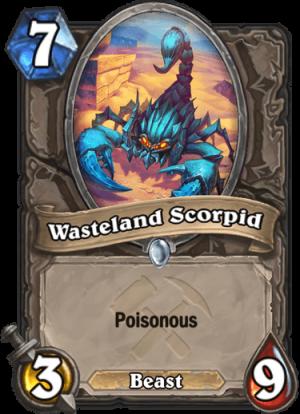 Wasteland Scorpid Card