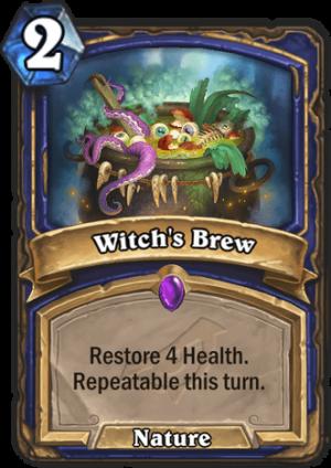 Witch's Brew Card