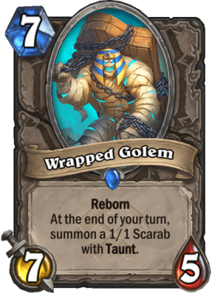Wrapped Golem Card