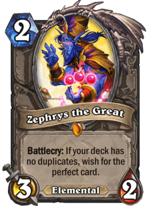 Zephrys the Great Card