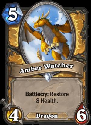 Amber Watcher Card