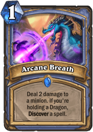 Arcane Breath Card