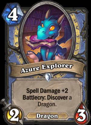 Azure Explorer Card