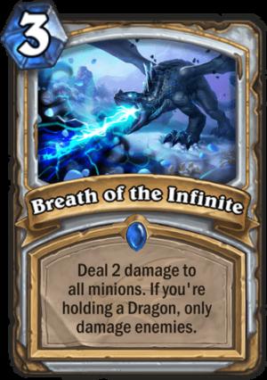 Breath of the Infinite Card