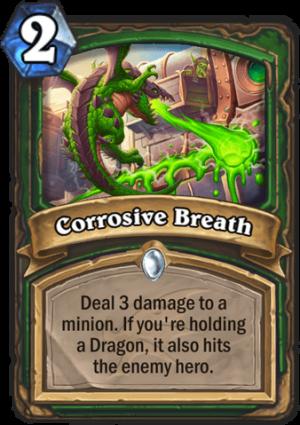 Corrosive Breath Card