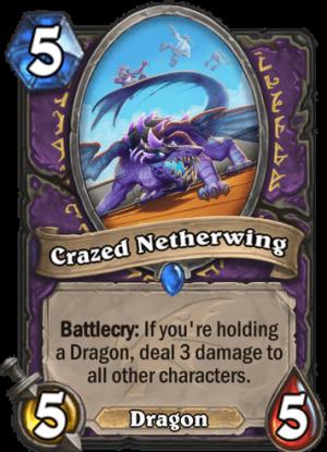 Crazed Netherwing Card