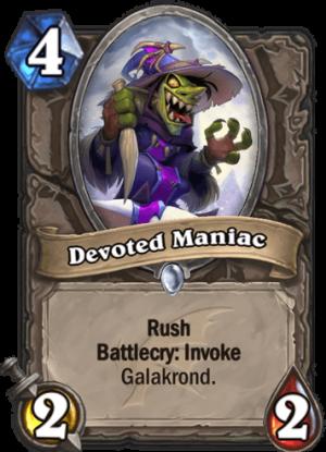 Devoted Maniac Card