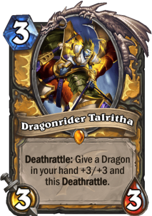 Dragonrider Talritha Card