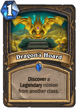 Dragon's Hoard Card