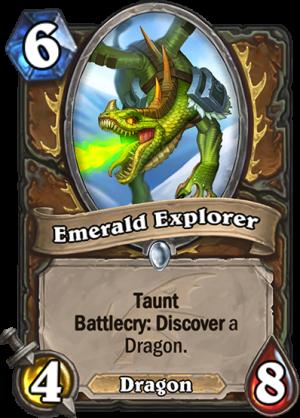 Emerald Explorer Card